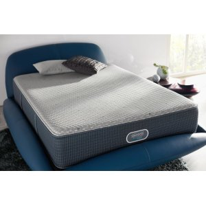 SimmonsBeautyRest - Silver Hybrid - Beachwood - Tight Top - Luxury Firm - Cal King