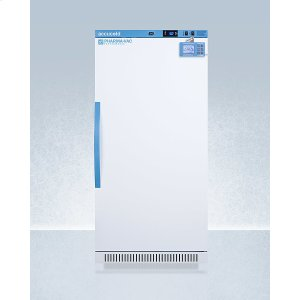 SummitPerformance Series Pharma-vac 8 CU.FT. Upright All-refrigerator for Vaccine Storage With Factory-installed Data Logger