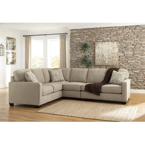Ashley Furniture Alenya - Quartz 3 Piece Sectional