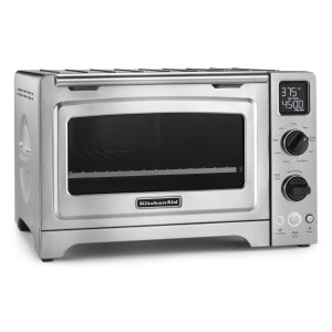 "KitchenAid12"" Convection Digital Countertop Oven Stainless Steel"