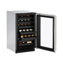"Modular 3000 Series 18"" Wine Captain® Model With Stainless Frame Finish and Field Reversible Door Swing (115 Volts / 60 Hz)"