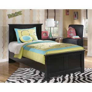 Ashley Furniture Maribel - Black 3 Piece Bed Set (Twin)