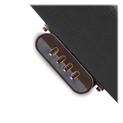 Prodigy 2.0 Adjustable Bed Base with MicroHook Retention System, Black Finish, Split California King