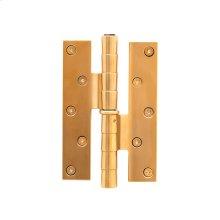 Antique Gold Brown Tiger Eye Step Standard Hinge RH 1-1/4 Strap