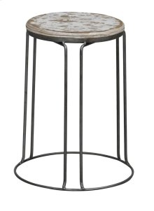 Geary Stool White