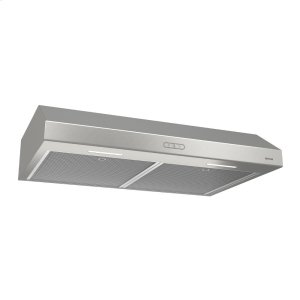 BroanBroan® 42-Inch Convertible Under-Cabinet Range Hood, 300 CFM, Stainless Steel