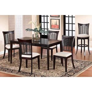 Hillsdale FurnitureBayberry 5pc Rectangle Dining Set With Server- Dark Cherry