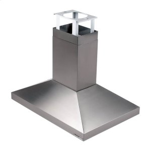 "Broan63000 Series 900 CFM, 27-5/8"" x 39-3/8"" (70 cm x 100 cm) Island Chimney Mount Range Hood in Stainless Steel"