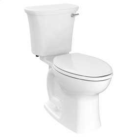 Edgemere Right Height Elongated Toilet with Right Hand Trip Lever  American Standard - White