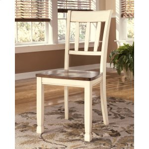 Ashley Furniture Whitesburg - Brown/cottage White Set Of 2 Dining Room Chairs