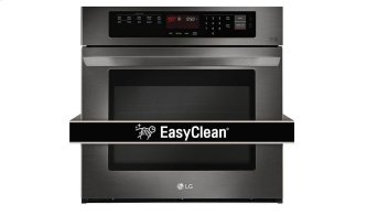 4.7 CU.FT. Black Stainless Steel Series Single Wall Oven With Easyclean™