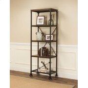 Craft Rustic Elm Slim Bookcase Product Image