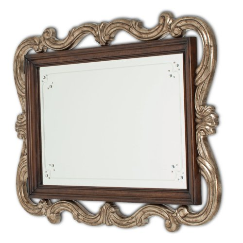 Platine De Royale Sideboard W/mirror Light Espresso
