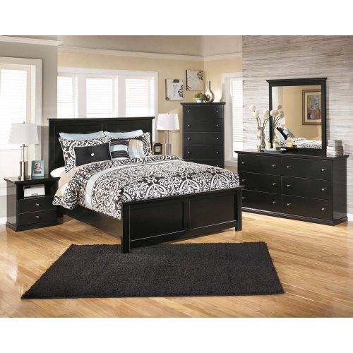 Queen Size Panel Bed