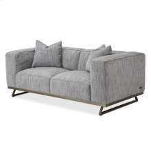 Tempo Loveseat With Metal Base