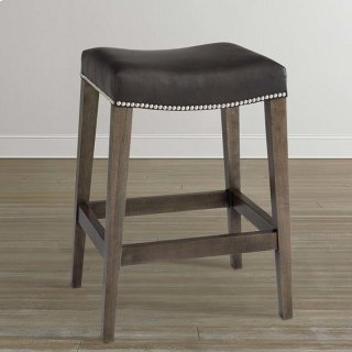 Bench*Made Oak Counter Saddle Stool