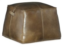 Living Room Birks Leather Ottoman