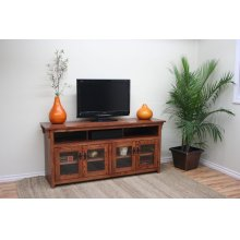 "O-M280 Mission Oak 65"" TV Console"
