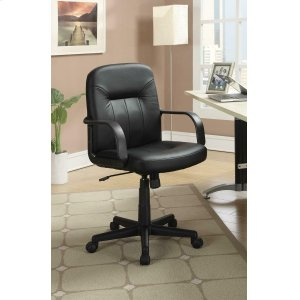 CoasterContemporary Black Office Chair