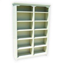 """Shaker Alder 48"""" Standard Bookcase"""