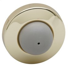 Door Accessories  Wall Door Stop - Bright Brass