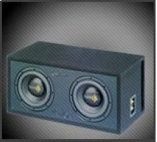 Dual SPL Series V212 Subwoofer, 1000 Watts RMS