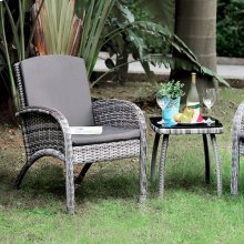 Juno 3 Pc. Patio Seating Set