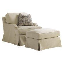 Stowe Slipcover Chair - Khaki