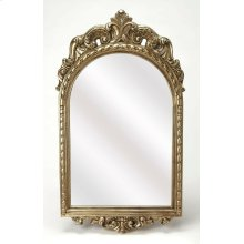 Outfit the walls of your entry or hall with this glimmering mirror. Featuring an French Italian style, light weight, polyurethane frame with a gorgeous arch and accents this frame will be beautiful where ever you hang it.
