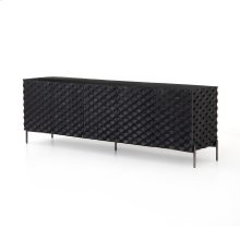 Raffael Media Console-black Wash