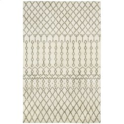 Kasbah-Trellis Ivory Hand Knotted Rugs