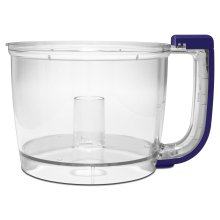 Work Bowl for 7-Cup Food Processor Cobalt Blue