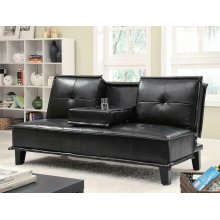 Contemporary Black Sofa Bed
