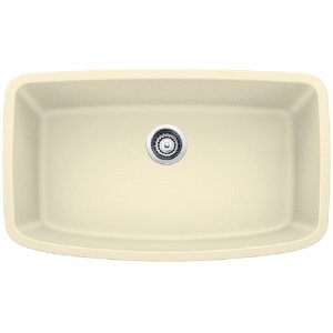 Blanco Valea® Super Single Bowl - Biscuit