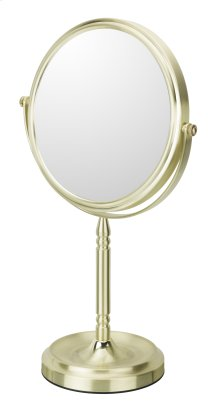 Recessed Base Free Standing Mirror 5x/1x