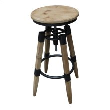 Quad Pod Adjustable Stool Natural