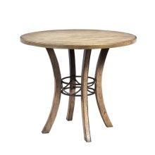 Charleston Round Wood Counter Table