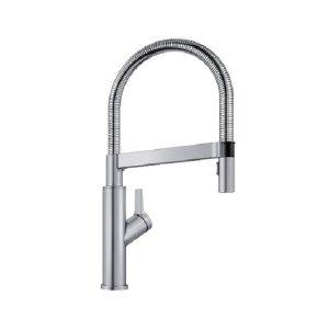Blanco Solenta Senso Semi-professional Kitchen Faucet - Stainless Finish