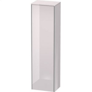 Tall Cabinet, White Lilac High Gloss Lacquer
