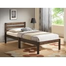 ASH BROWN FINISH TWIN BED Product Image