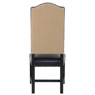 Duke Side Chair Black