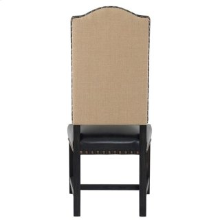 Duke Side Chair Black