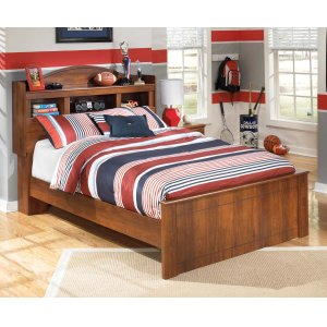 Ashley Furniture Barchan - Medium Brown 3 Piece Bed Set (Full)