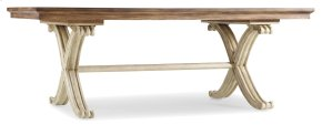 Dining Room Sanctuary Rectangle Dining Table-Dune/Amber Sands