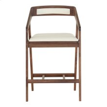 Padma Counter Stool White Pvc