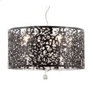 Nebula Ceiling Lamp Black Product Image