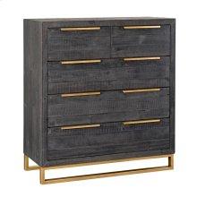 Vogue 5Dwr Dresser Black