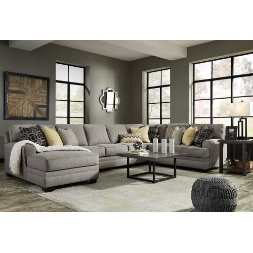 LAF Chaise 4 Pc Sectional