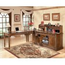 Hamlyn - Medium Brown 4 Piece Home Office Set Product Image