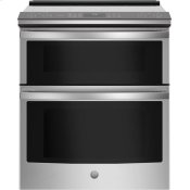 "30"" Smart Slide-In Electric Double Oven Convection Range"